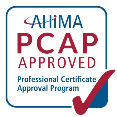 AHIMA PCAP Approved logo