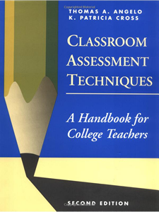 Classroom Assessment Techniques book cover