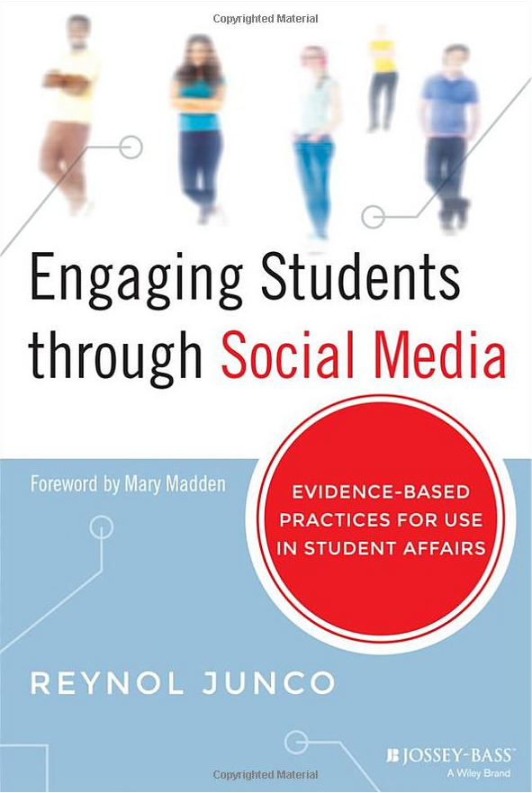 Engaging Students through Social Media: Evidence-Based Practices for Use in Student Affairs book cover