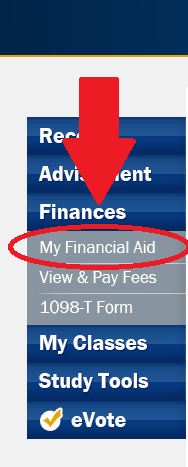 View my Financial Aids