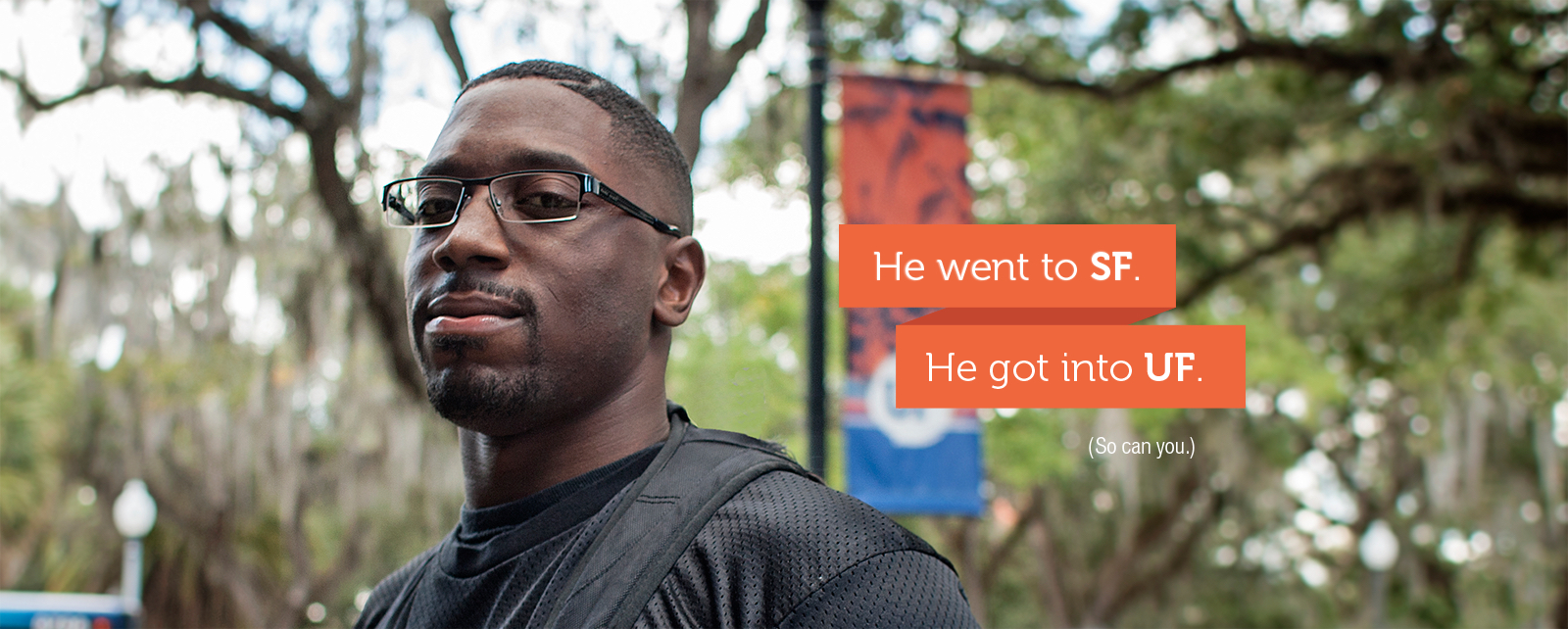 Milton went to SF. He got into UF.