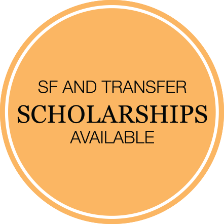 SF and Transfer Scholarships Available