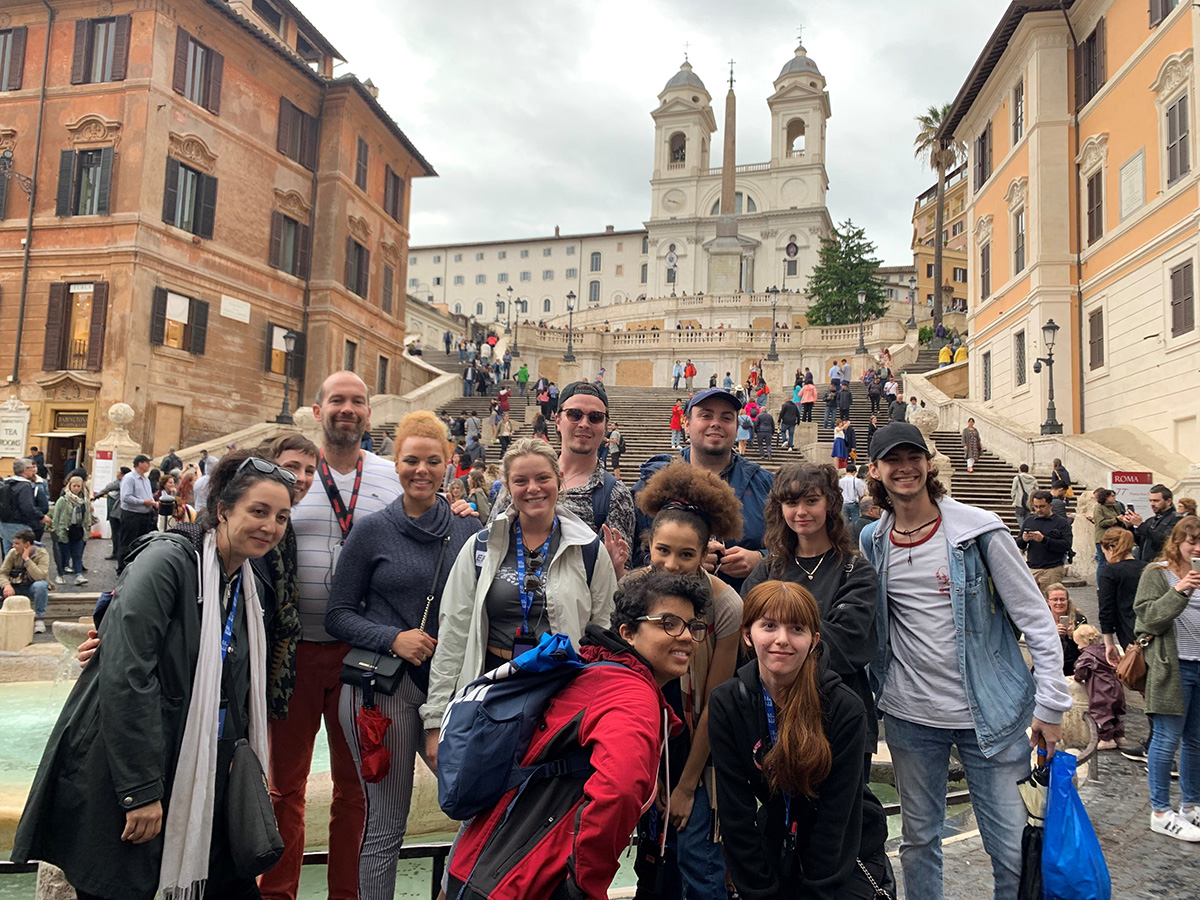 2019 Italy Group in Rome