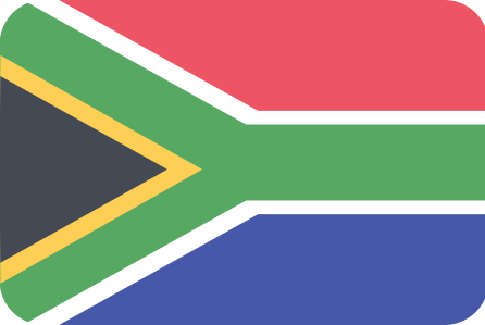 Click on the South Africa flag to view a brochure about this country.