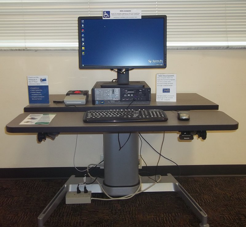 1st Floor Library ADA Workstation