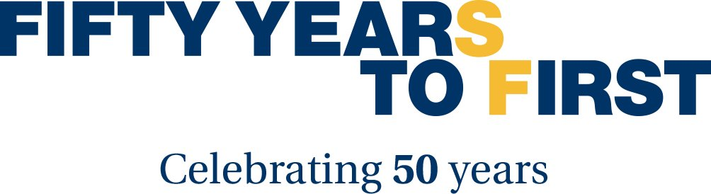 'Fifty Years to First - Celebrating 50 Years' from the web at 'http://www.sfcollege.edu/Assets/sf/master/img/home-fifty.jpg'
