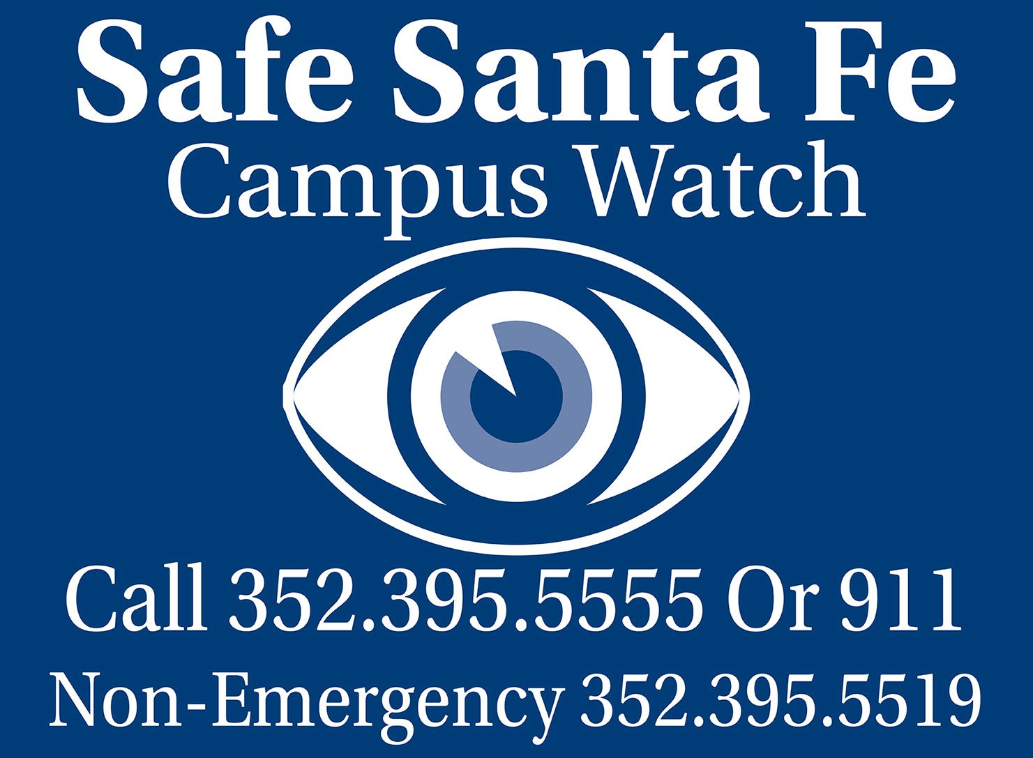 Safe Santa Fe Campus Watch