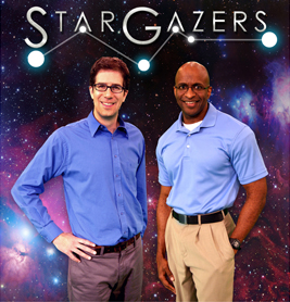 Star Gazers hosts, Dean Regas and James C. Albury