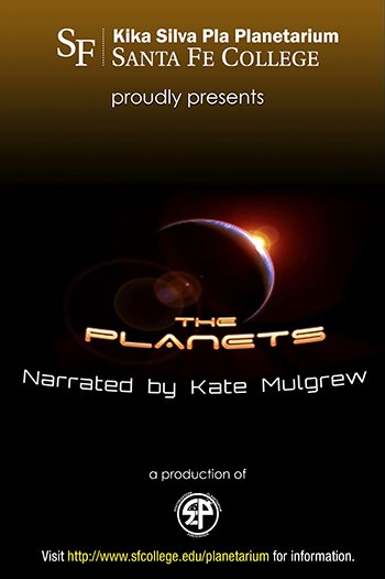 The Planets - narrated by Kate Mulgrew