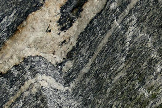Close up of Gneiss Rock
