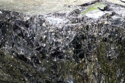 Close up of Volcanic Glass Rock