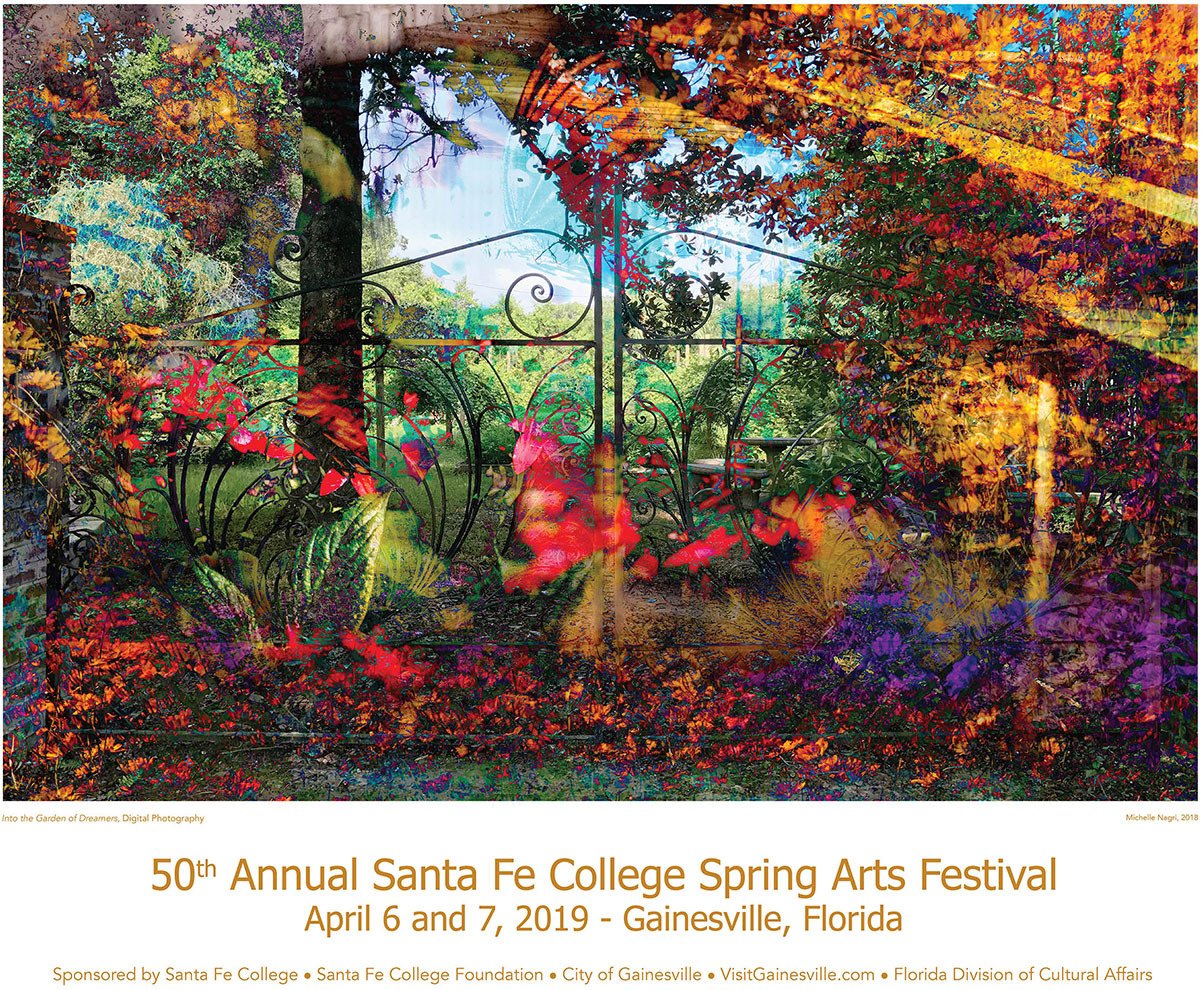 Spring Arts Festival Poster