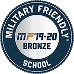 Military Friendly School 2018 to 2019 Bronze designation