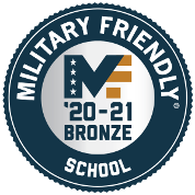 2020 to 2021 Military Friendly Bronze Designated School
