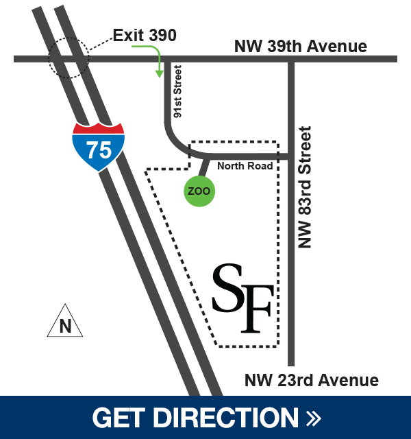 Directions to Santa Fe College Teaching Zoo on